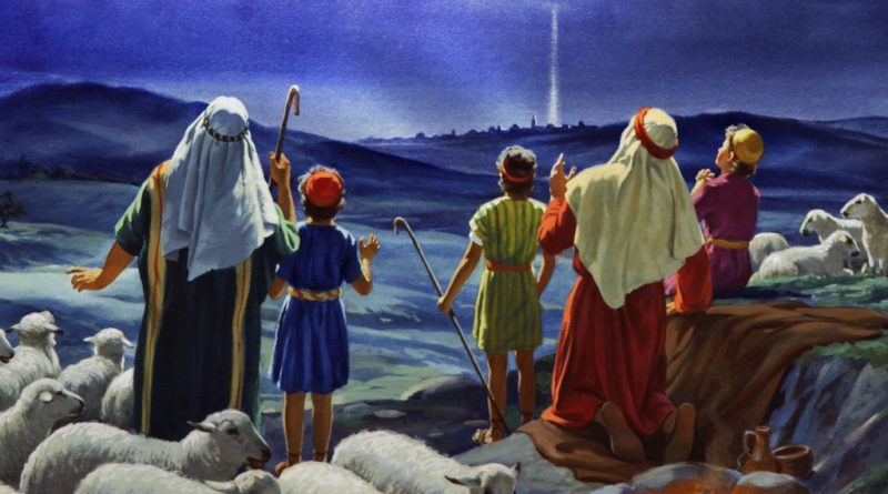 Anunicación a los pastores