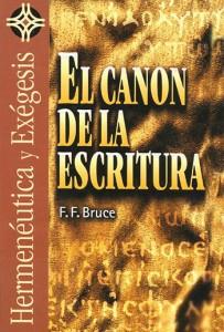 Canon de la Escritura F.F. Bruce