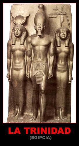 La trinidad Egípcia