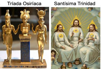 LA gtrinidad Osiaríaca y la Santísima Trinidad