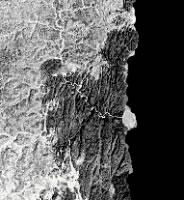 fotografia de satelite del area