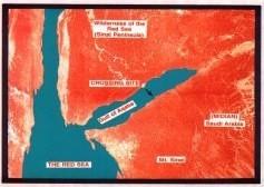 Fotografia de Satelite del lugar del cruce