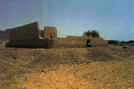 Fuerte al norte de Wadi Watir