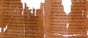 Muestra del original de la Septuaginta
