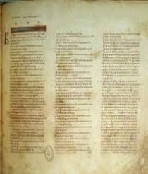 Vista del Texto Sinaitico