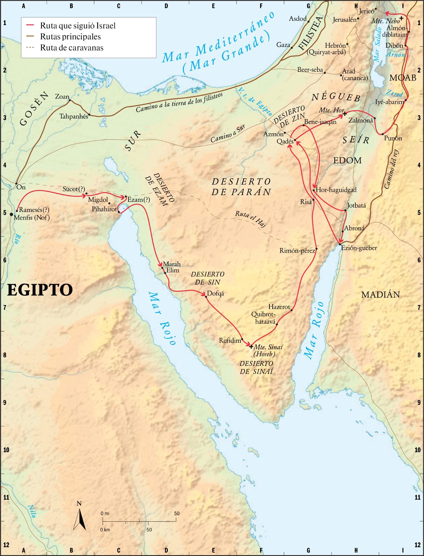 Ruta de Israel