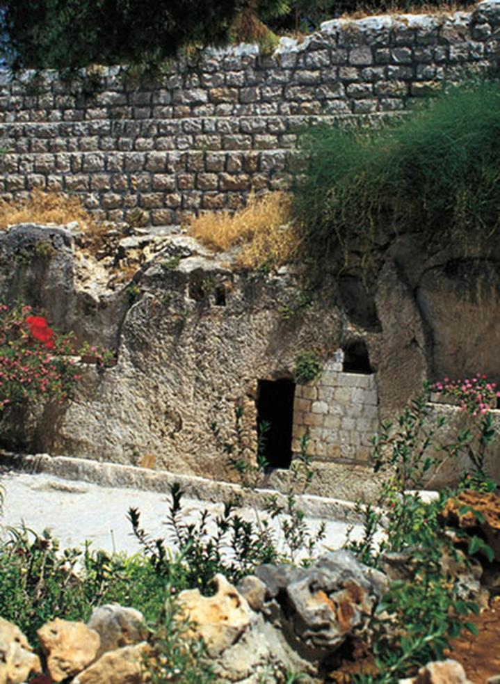 Posible sepulcro de Jesucristo en José de Arimatea.