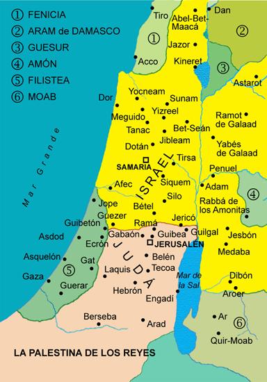 La Palestina de los reyes