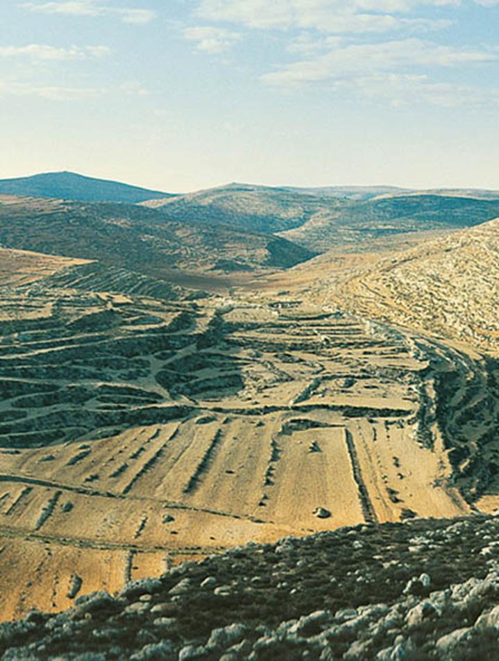 Ruinas de la antigua ciudad de Silo