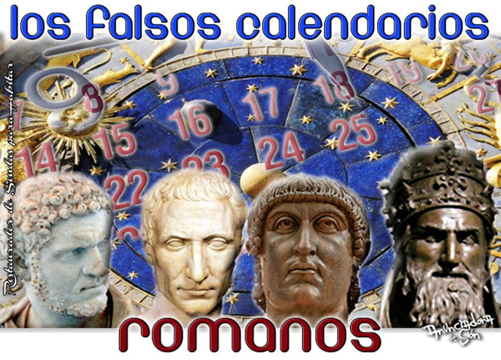 Los falsos calendarios Romanos