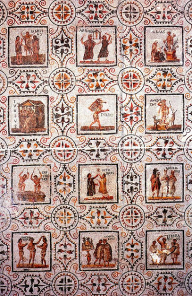 Representación del calendario Juliano