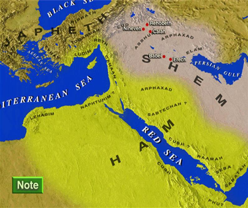Mapa de la zona 3