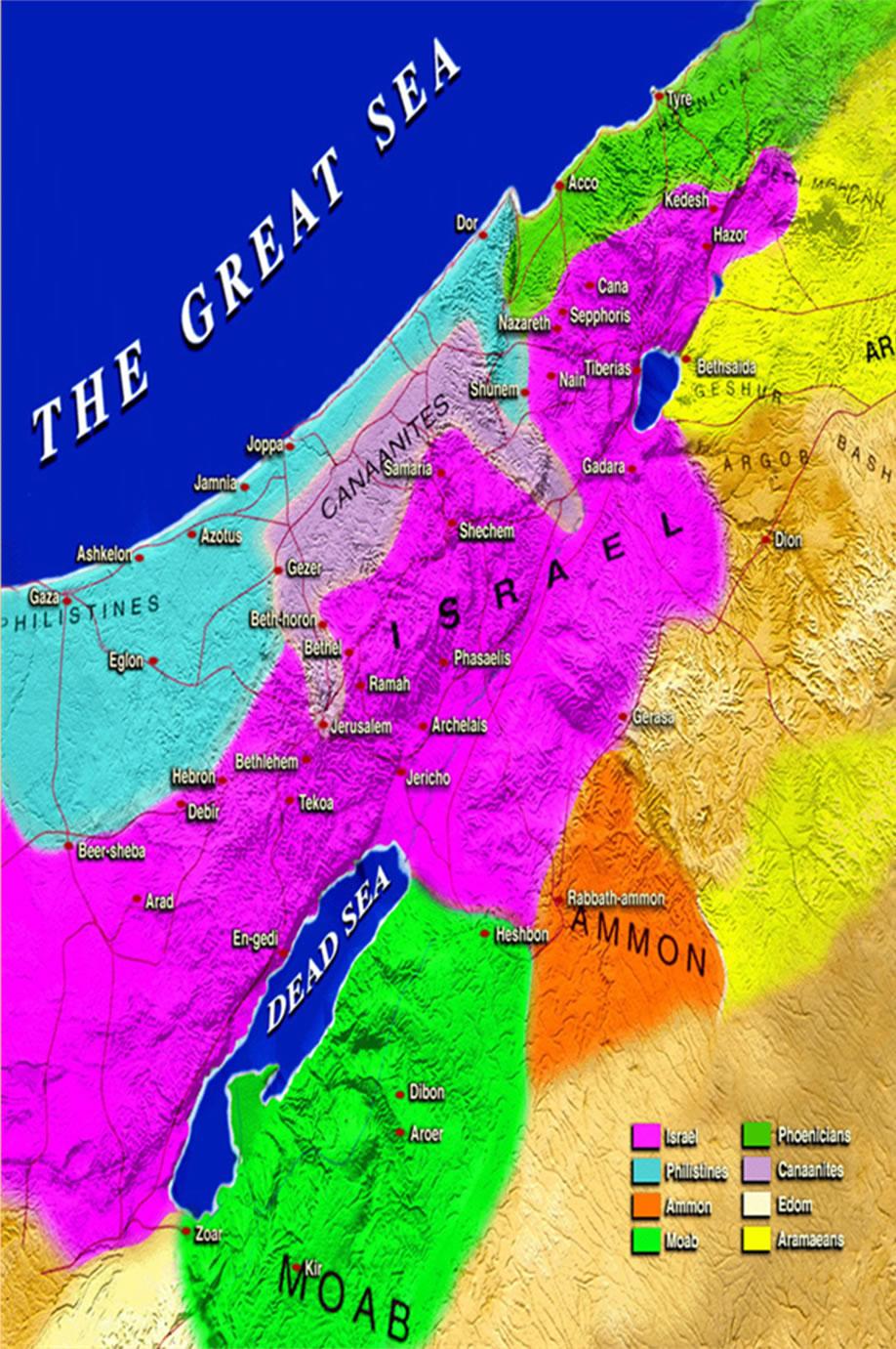 Mapa de la zona 4