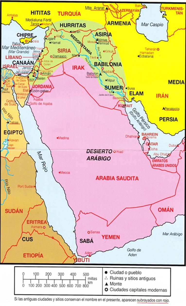 Mapa de la zona 6