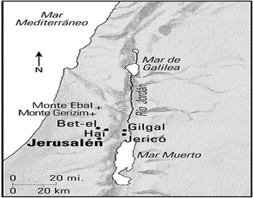 Mapa de la zona 7