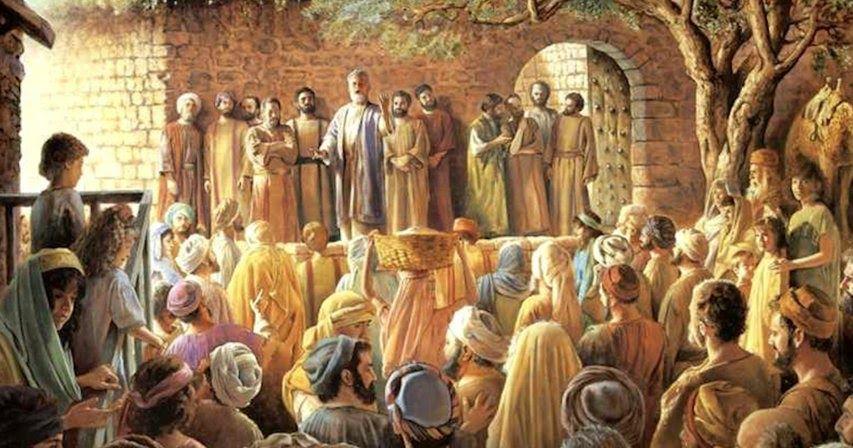 Saul en la asamblea de Jerusalén