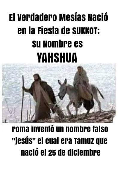 El nacimiento de Yahshua