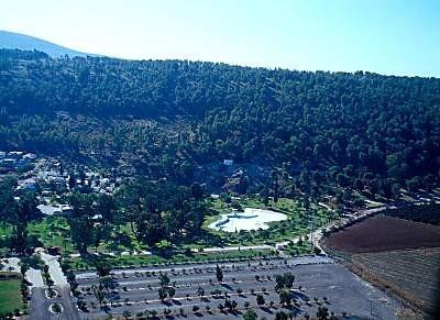 Manantial de Harod y Monte Gilboa