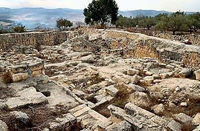 Samaria ruinas