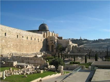 Restos del Templo destruido en el Año 70