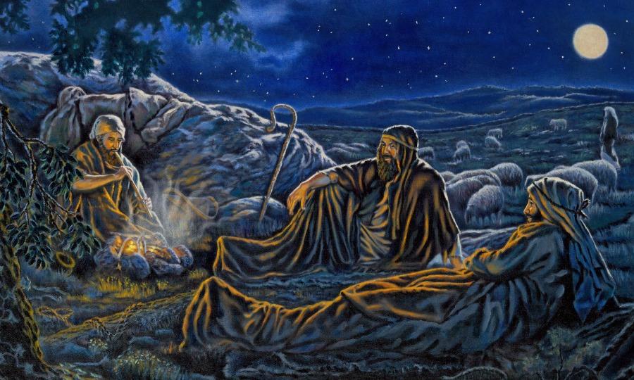 Pastores en la epoca del nacimiento