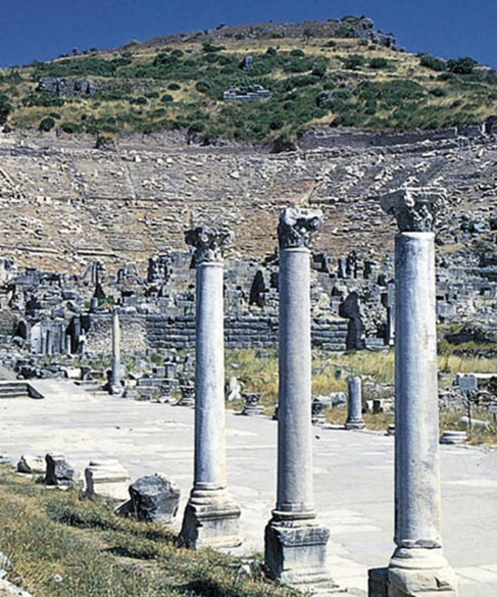 Ruinas del teatro griego de Éfeso