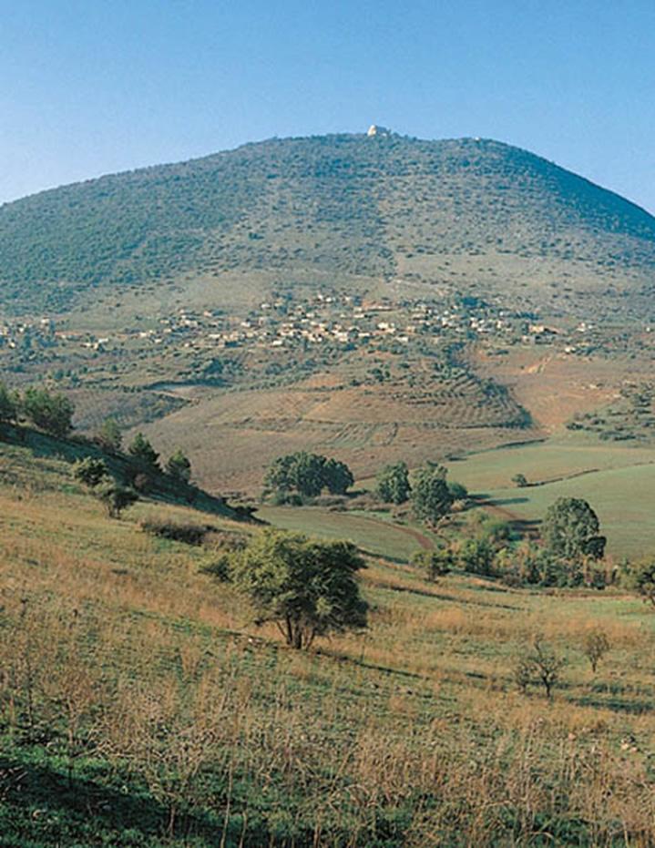 Vista del valle de Jezreel desde el noroeste