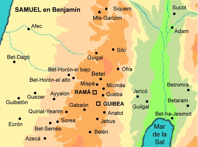 Samuel en Benjamín