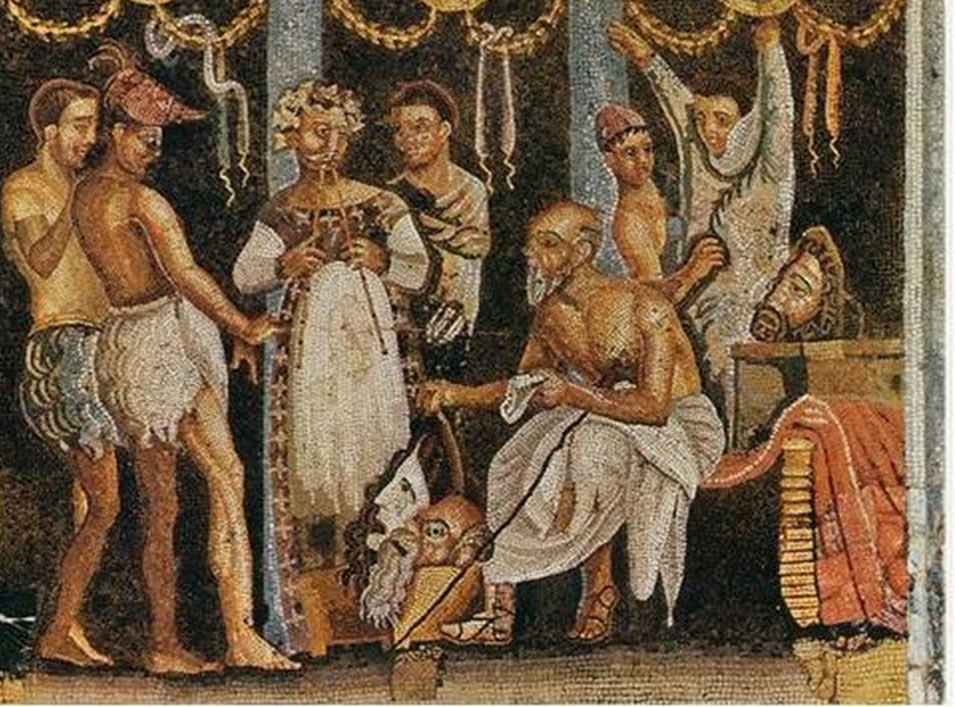 Mosaico Dioses Solares