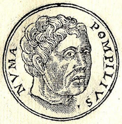 Moneda de Numa Pompilio